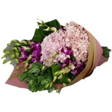 Botany Bouquet with Thailand Orchids